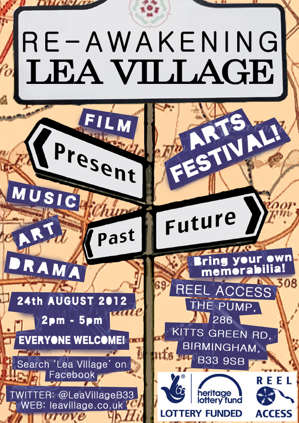 Re-awakening Lea Village Flyer