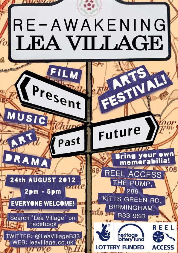 Re-awakening Lea Village Flyer